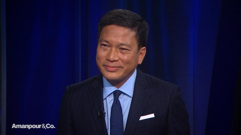 Amanpour and Company: Thant Myint-U Discusses Human Rights Abuses in Myanmar
