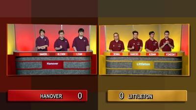 Granite State Challenge | Quarter Final 1 - Hanover Vs Littleton