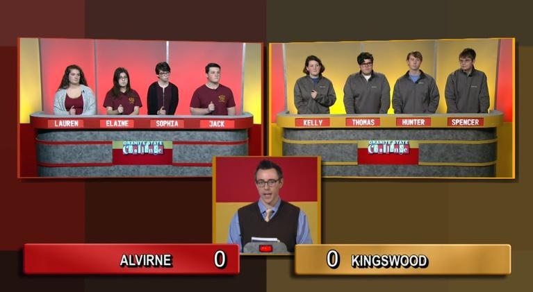 Granite State Challenge: Alvirne vs. Kingswood Regional | 2019 Wild Card Game