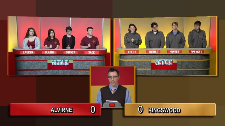 Granite State Challenge: Alvirne vs. Kingswood Regional   2019 Wild Card Game