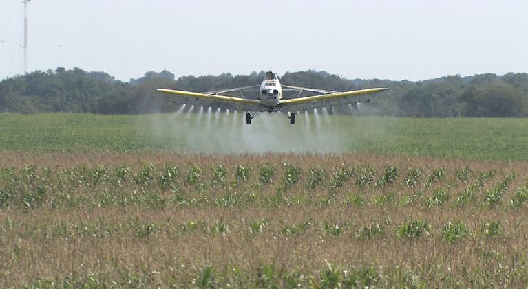 OzarksWatch Video Magazine: Crop Dusting - Flying Low to Grow