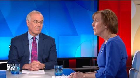PBS NewsHour -- David Brooks and Karen Tumulty on Senate trial, Jim Lehrer