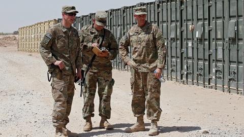 News Wrap: Iran says it won't attack U.S. targets in Iraq