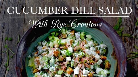 Kitchen Vignettes -- S4 Ep7: Cucumber Dill Salad