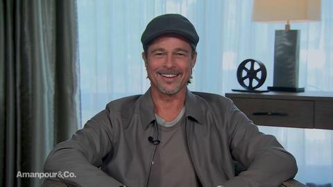 """Amanpour and Company -- Brad Pitt on How He Relates to His Character in """"Ad Astra"""""""