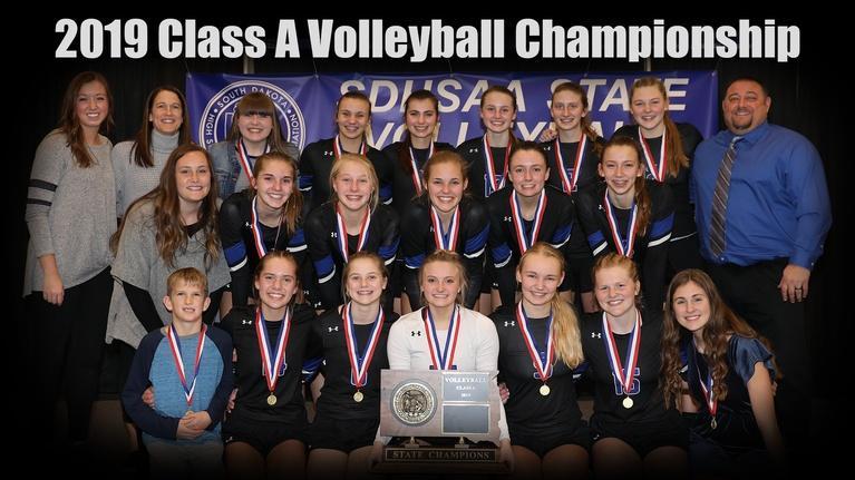 High School Activities: 2019 Class A SDHSAA Volleyball Championship