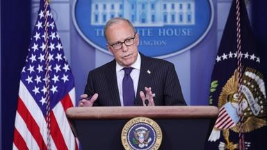 Kudlow: Trump might repurpose money to fund unemployment