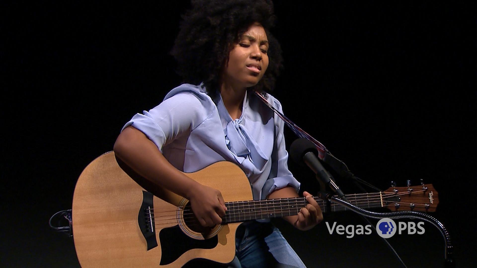 """Las Vegas Singer/Songwriter Kiara Brown Performs """""""