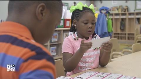 PBS NewsHour -- How do you make the benefits of pre-K education last?