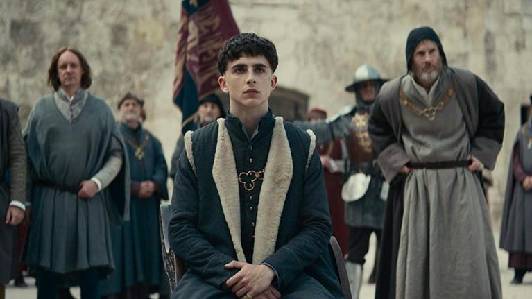 "Flicks: David Michôd and Timothée Chalamet for ""The King"""