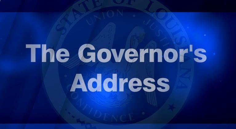 Louisiana Public Broadcasting Presents: Governor's Address to Open the Legislative Session| 04/08/19
