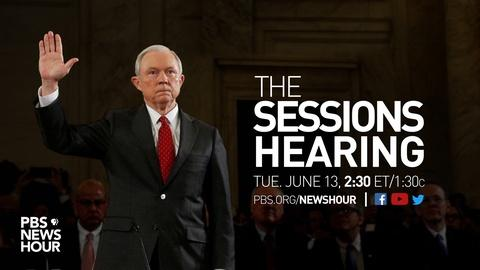 PBS NewsHour -- PBS NewsHour Jeff Sessions Hearing Special
