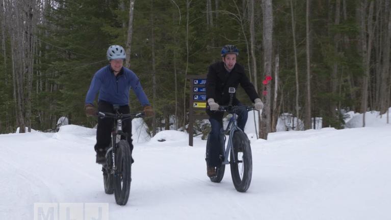 Northbound and Around: Fat Tire Snow Biking