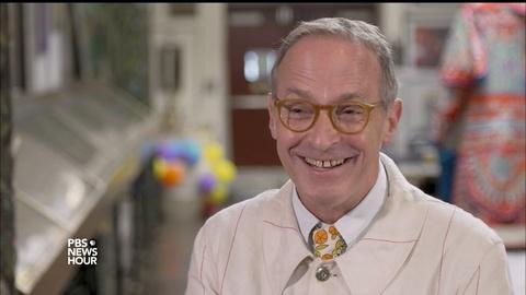 PBS NewsHour -- David Sedaris' diaries paint a life spent in observation