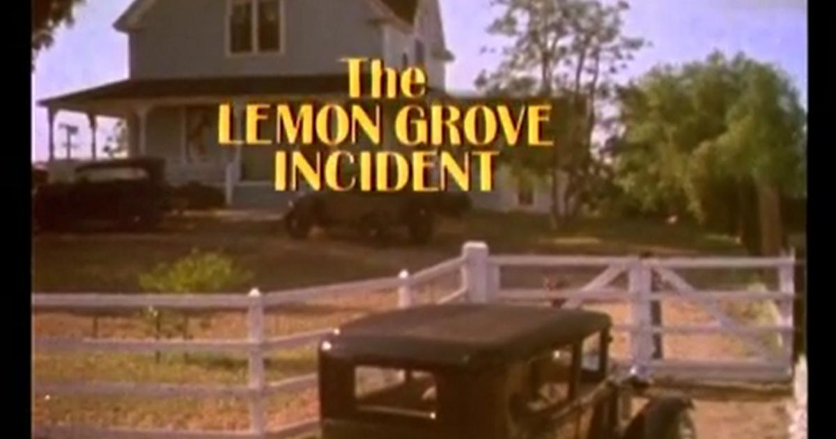 the lemon grove incident