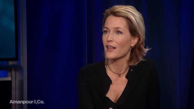 Amanpour and Company: Actress Gillian Anderson on her Wide-Spanning Career