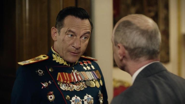 "Flicks: Jason Isaacs for ""The Death of Stalin"""
