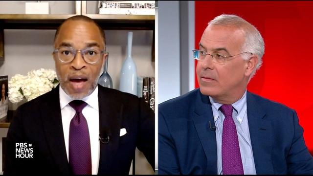 Brooks and Capehart on supply-chain issues, vaccine pushback