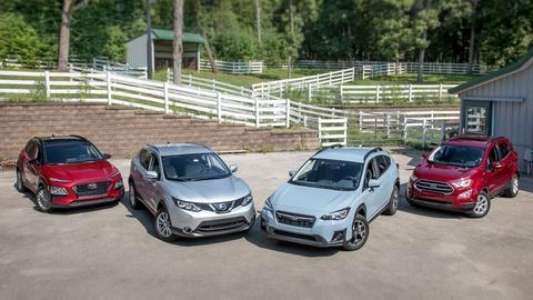 S38 E6: Compact SUVs & 2018 Mercedes-Benz GLC350e