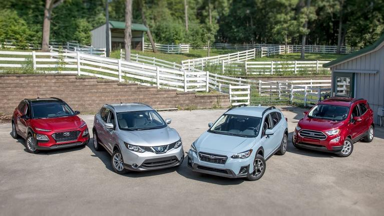 MotorWeek: Compact SUVs & 2018 Mercedes-Benz GLC350e