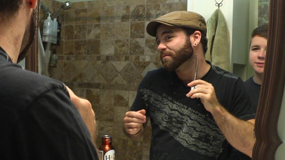 Real Boy - Beard and a Haircut - Clip image