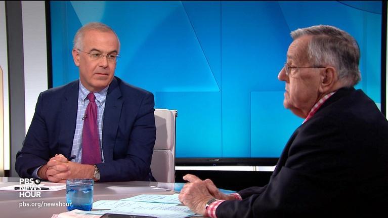 PBS NewsHour: Shields and Brooks on impeachment testimony, new 2020 Dems