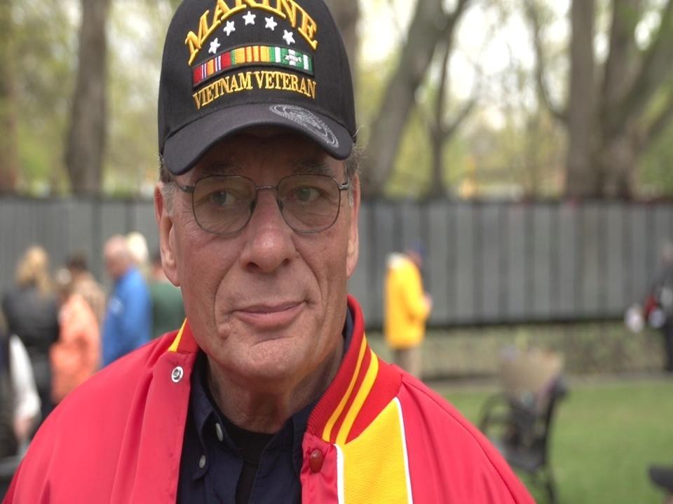 THE VIETNAM WAR  NH Vietnam Story - John Jenkins