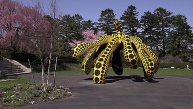 'Kusama: Cosmic Nature' spans 70 years of the artist's work