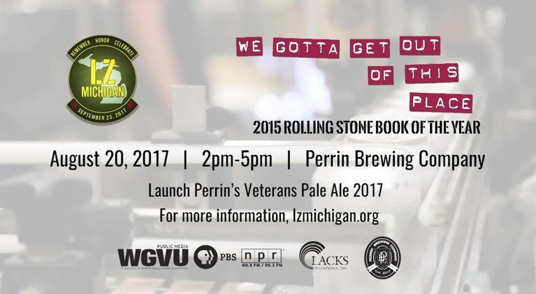 Engage Veterans: We Gotta Get Outta This Place Perrin Event Promo