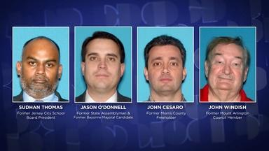 Four NJ local politicians indicted on bribery charges