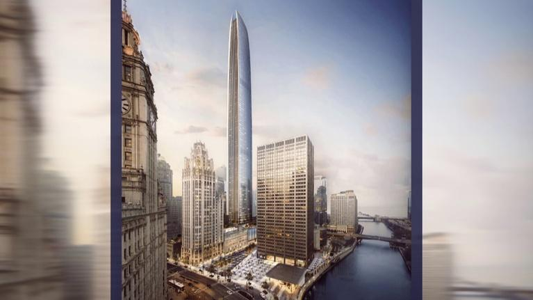 Chicago Tonight: Tribune Redesign Could Include City's 2nd Tallest Skyscraper
