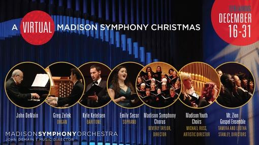 PBS Wisconsin Music & Arts : A Virtual Madison Symphony Christmas