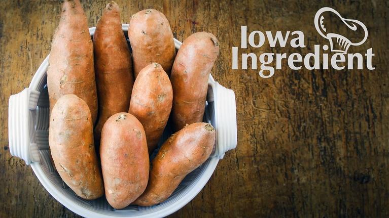 Iowa Ingredient: Sweet Potatoes