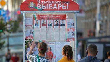 In Belarus, 3 women are challenging a longtime authoritarian