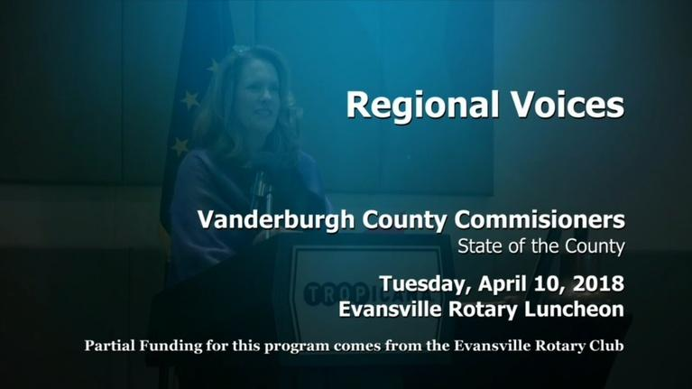 Evansville Rotary Club: Regional Voices: Vanderburgh County Commissioners