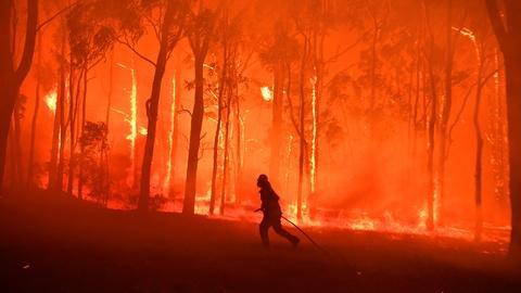 PBS NewsHour -- Could bushfires erode Australia's climate change 'inertia'?