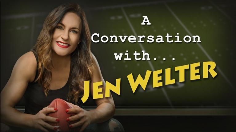 Conversation With . . .: A Conversation with Dr. Jen Welter