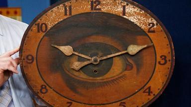 Appraisal: Gilbert Clock Co. Optic Eye Clock, ca. 1910