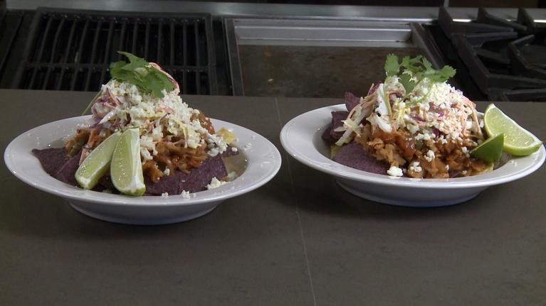 Charlotte Cooks: Jackfruit Taco Salad