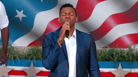 "A Capitol Fourth -- S2017: Chris Blue Performs ""America the Beautiful"""