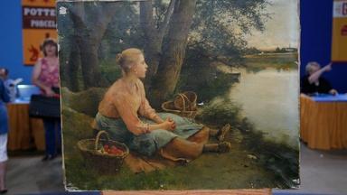 Appraisal: Luis Jimenez y Aranda Oil Painting, ca. 1880
