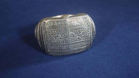 Antiques Roadshow -- Appraisal: Late 19th-Century Omani Silver Anklet