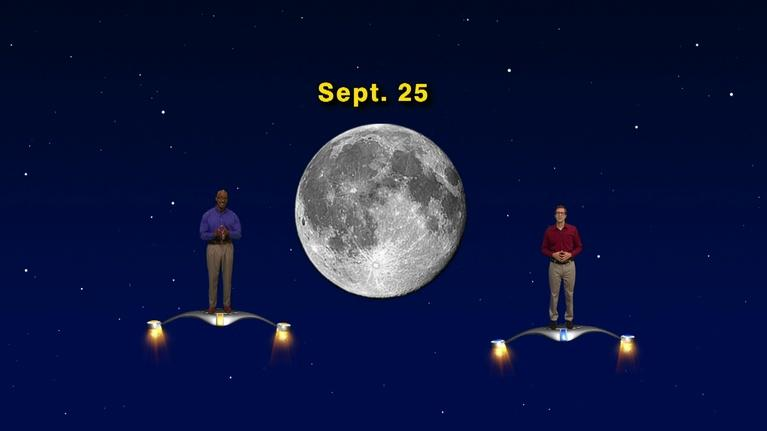 "Star Gazers: ""Shine on Harvest Moon! September 17 - Sept 23rd 5 Min"