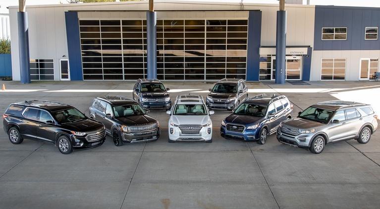 MotorWeek: 3-Row SUVs & 2019 Audi e-tron