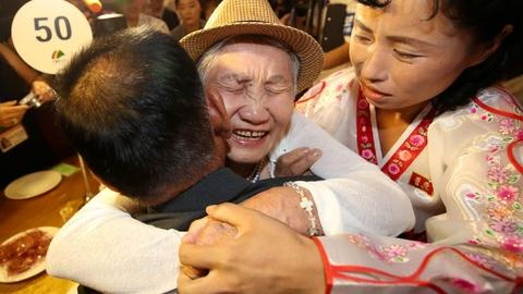 PBS NewsHour -- Korean family reunions are a tenuous step toward progress