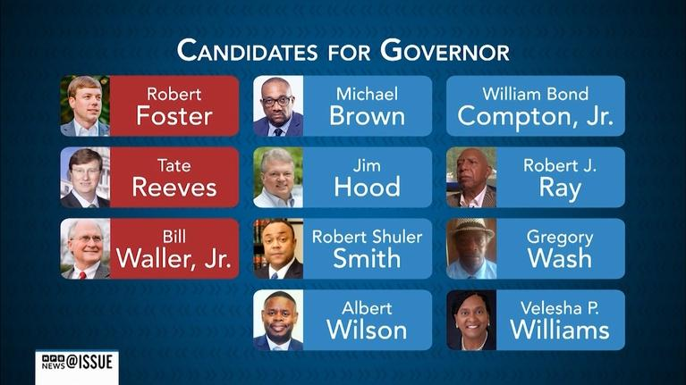 @ISSUE: A look at the candidates in Mississippi's party primaries