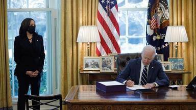 Biden hopes to pass more bills in first 100 days