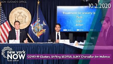 COVID-19 Clusters, SCOTUS, SUNY Chancellor Jim Malatras
