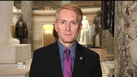 PBS NewsHour -- Lankford: Flynn accusations 'more open to interpretation'