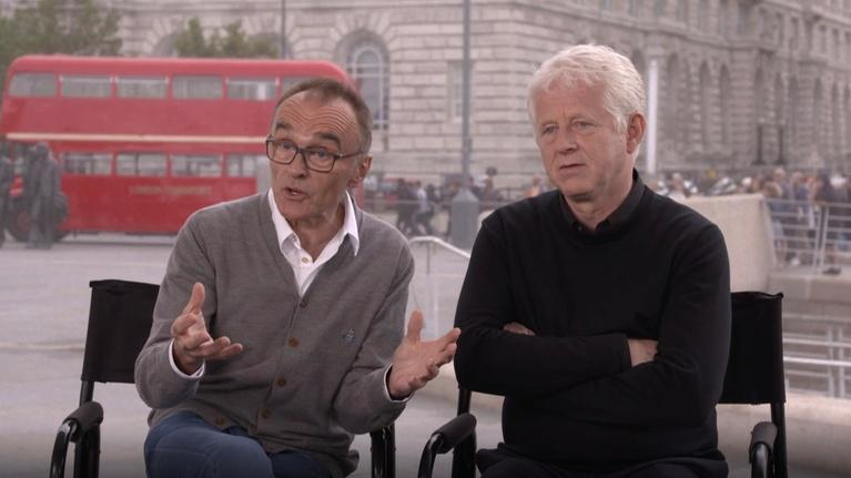 "Flicks: Danny Boyle & Richard Curtis for ""Yesterday"""